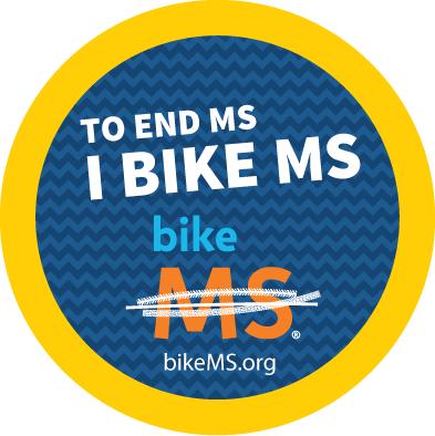 MS Bike Ride Graphic