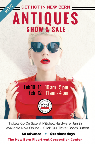 Antiques Show and Sale Poster