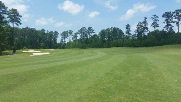 Golf Course Landscape Wide