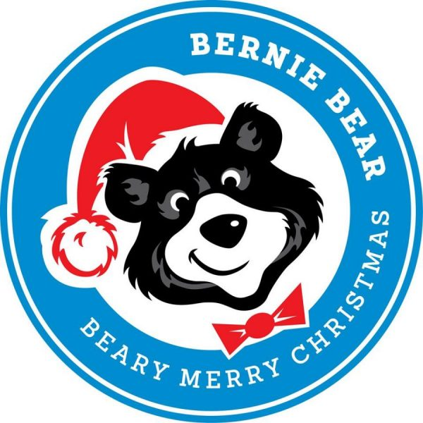 Bernie Bear Graphic Christmas