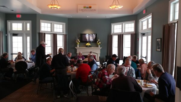 Lunch in Carolina Colours Golf Club