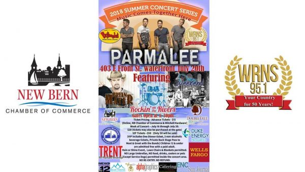 poster for summer concert series