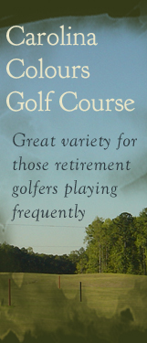 golf banner with text
